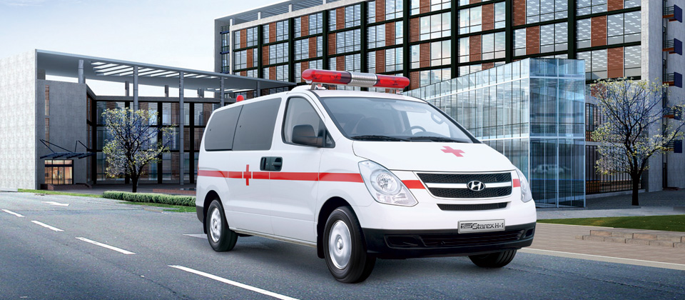 Ô tô Hyundai Starex cứu thương Đà Nẵng