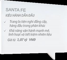 Ô tô Hyundai Santafe Đà Nẵng