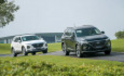 Hết thời kì bia kèm lạc, Hyundai Santa Fe giảm giá 100 triệu đồng
