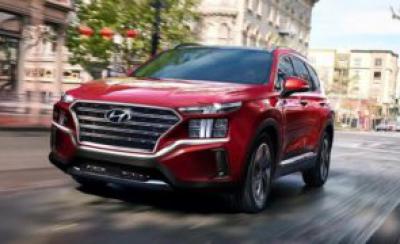 Hyundai Santafe 2021 lộ diện, sắp có mặt tại Hyundai Đà Nẵng.