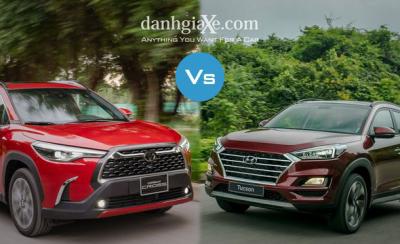 So sánh trang bị trên Toyota Corolla Cross 2020 và Hyundai Tucson 2020