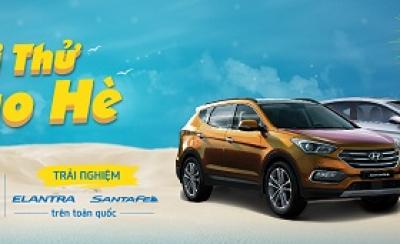 Chương trình khuyến mãi Hyundai tháng 07/2017